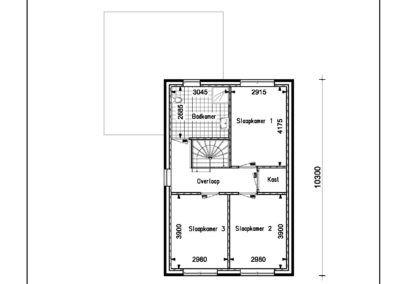 Type VH01 1e verdieping