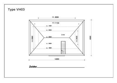 Type VH03 Zolder A4
