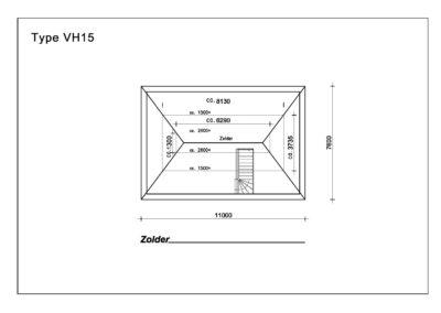 Type VH15 Zolder A4