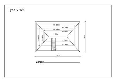 Type VH26 Zolder A4