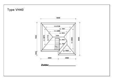 Type VH40 Zolder A4