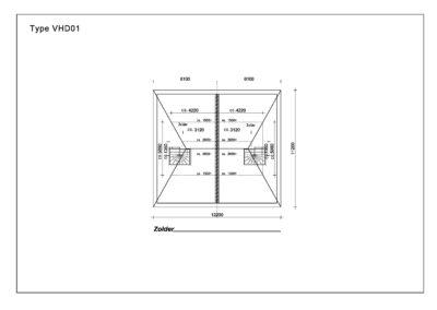 Type VHD01 Zolder A3