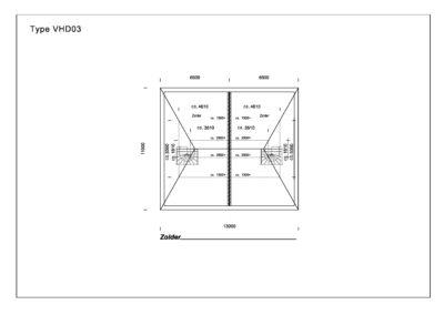 Type VHD03 Zolder A3