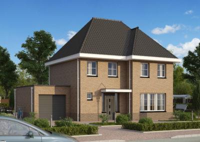 VH40  €283.000,-  Hoofdbouw 8,4 x 9,0 m¹