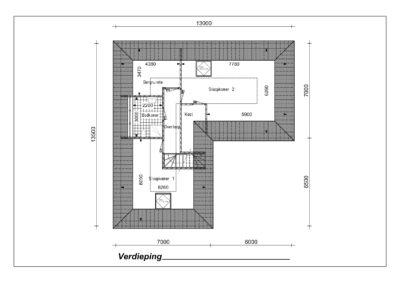 Type VH19 1e verdieping-1