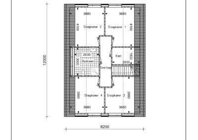 Type VH24 1e verdieping-1