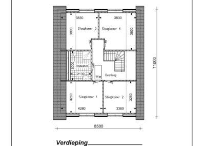 Type VH41 1e Verdieping-1