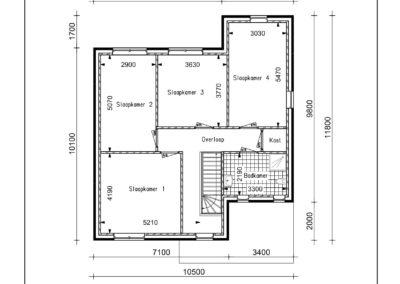 Type VH42 1e verdieping-1