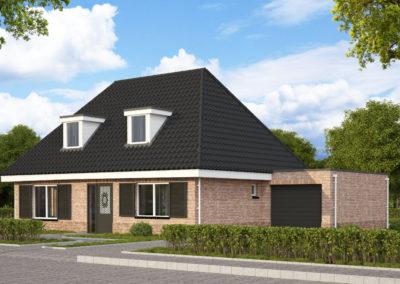 VH05  €260.500,-  Hoofdbouw 10,6 x 8,0 m¹