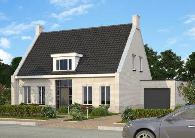 VH29  €316.500,-  Hoofdbouw 11,2 x 7,8 m¹