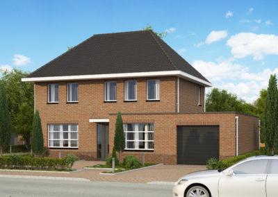 VH35  €303.000,-  Hoofdbouw 7,4 x 10,0 m¹