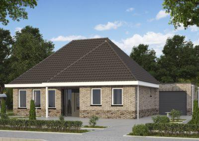 VH43  €283.250,-  Hoofdbouw 11,5 x 8,5 m¹
